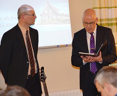 Einführung Prediger Benne mit Inspektor Stahl