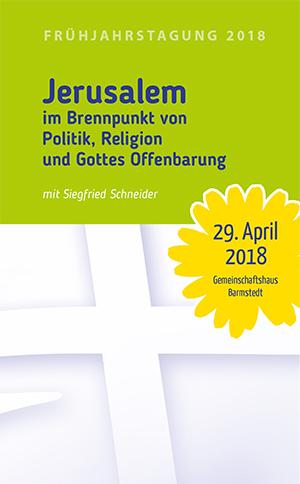 Cover der VG-Frühjahrstagung 2018